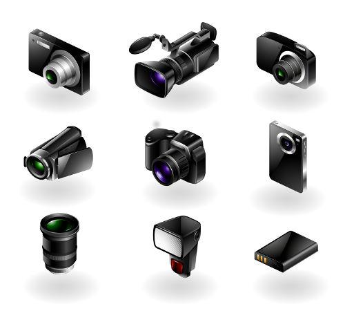 מצלמות דיגיטליות, מצלמות וידאו, מצלמות אקסטרים, עדשות, חצובות, מבזקים, כרטיסי זיכרון, מטענים, תיקים למצלמות ועוד