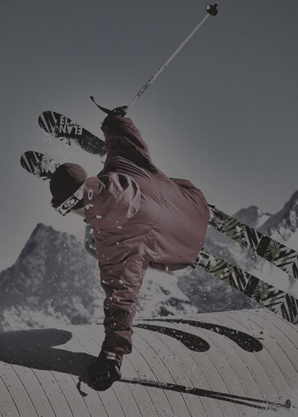 סקי שלג - GoPro